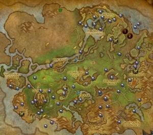 Schatzkarte Von Nagrand Gegenstand World Of Warcraft