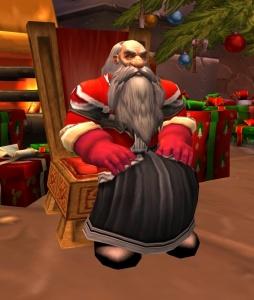 warcraft santa