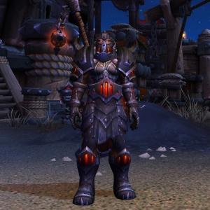 Blackrock Plate Transmog Set World Of Warcraft