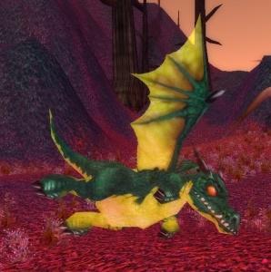 Выкройка броня из зеленого дракончика