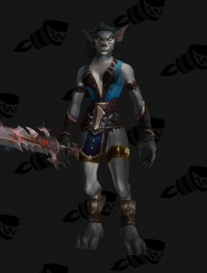 Worgen Female Fighter Growei Concept Based Outfit