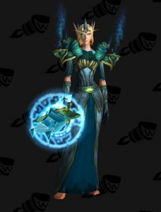 Teal Mage Outfit World Of Warcraft