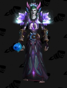 Addicted To Crystal Outfit World Of Warcraft