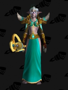 Night Elf Mage Outfit World Of Warcraft