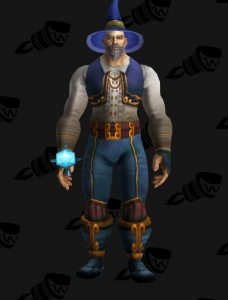 oogas blue wizard cloth outfit world of warcraft