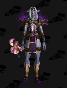 Darnassus Druid Outfit World Of Warcraft