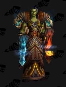 Female Orc Shaman Outfit World Of Warcraft