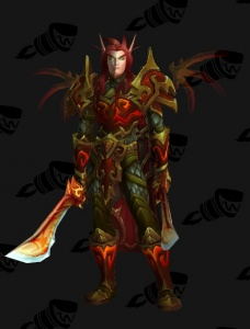 Red Dragonflight Dragonsworn облик World Of Warcraft