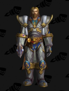 Gendrion\'s White Plate - Outfit - World of Warcraft