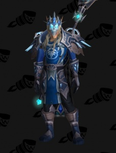 Blood Elf Frost Mage Outfit World Of Warcraft