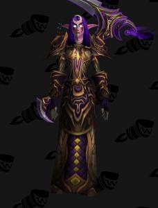 Darnassus Druid 2 Outfit World Of Warcraft