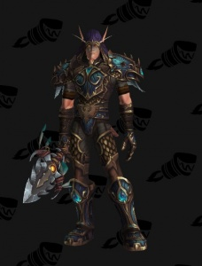 Blue Legion Hunter Outfit World Of Warcraft