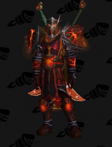 Blood Elf Fury Warrior Outfit World Of Warcraft