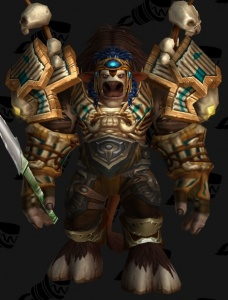 baine bloodhoof outfit world of warcraft