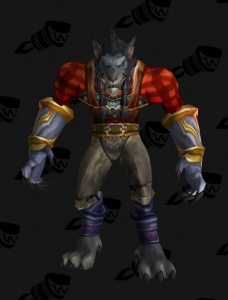 Worgen Lumberjack Plate Outfit World Of Warcraft