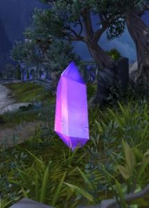 Flüchtiger Kristall Objekt World Of Warcraft