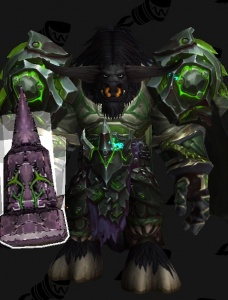 Fel Green Tmog Plate Outfit World Of Warcraft