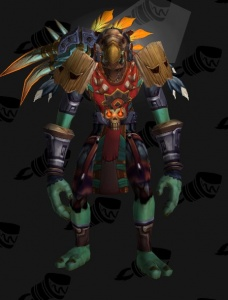 Darkspear Shaman Outfit World Of Warcraft