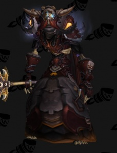 Warcraft Ii Death Knight Outfit World Of Warcraft