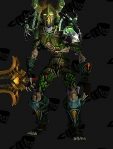Emerald Dragonsworn Outfit World Of Warcraft