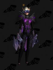 Vestiti Eleganti World Of Warcraft.Purple Mage Hidden Vestito World Of Warcraft