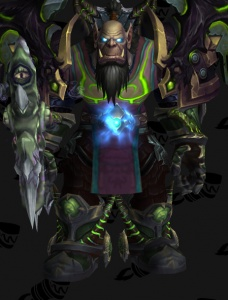 Fel Death Knight Outfit World Of Warcraft