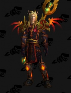 Red Dragonflight Dragonsworn Outfit World Of Warcraft