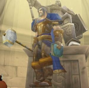 Ghost Of Uther Lightbringer Npc World Of Warcraft