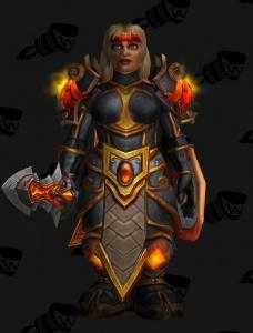 Dwarf Warrior Outfit World Of Warcraft