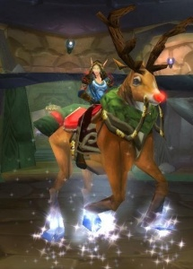 Flying Reindeer - Spell - World of Warcraft