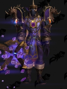 Draconic Purple Magician - Outfit - World of Warcraft