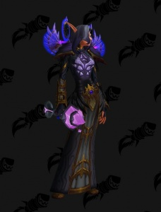 Voidelf Priest Outfit World Of Warcraft