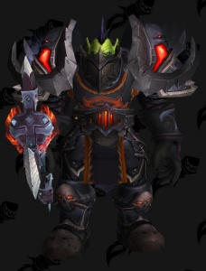 DARK WARRIOR BFA - Outfit - World of Warcraft