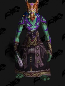 Voodoo Warlock Troll Outfit World Of Warcraft