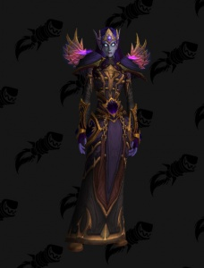 Void Elf Priest Outfit World Of Warcraft