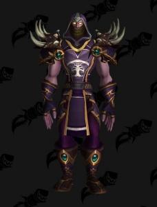 Darnassus Pride Druid Outfit World Of Warcraft