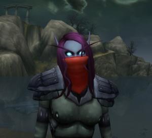 Sinister Rouge Mask Item World Of Warcraft