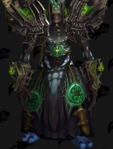 Mage Tier 14 Warlock Black Outfit World Of Warcraft