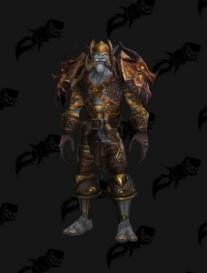 Bronze Dragonflight Dragonsworn Warrior Outfit World Of Warcraft