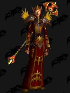Blood Elf Discipline Priest Outfit World Of Warcraft