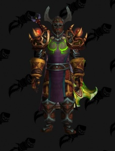 BC PvE BiS Arms Warrior - Outfit - World of Warcraft