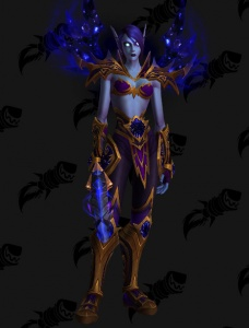 Void Elf Heritage Armor Outfit World Of Warcraft The least popular ranged dps specs are demonology warlocks, arcane mages, and elemental shamans. void elf heritage armor outfit