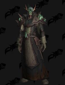 Fantasy Art Masked Warlock