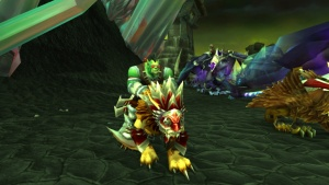 Dragonmaw Race Wing Commander Mulverick Quest World Of Warcraft