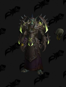 Zandalari Troll Warlock Outfit World Of Warcraft
