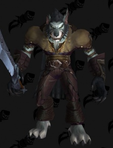 of Worgen Warcraft Tenue Pirate World N8m0vnwO