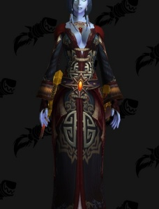 Draconic Caster - Outfit - World of Warcraft