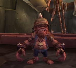 Carte Au Tresor Grabuge Sur Lile Des Sables Noirs.Oomgut Ritual Drum Objet World Of Warcraft