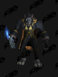 Vestiti Eleganti World Of Warcraft.Worgen Warlock Demonology Vestito World Of Warcraft