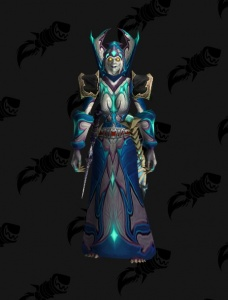 Classic WoW Mage Naxx BiS (w/o Cloak) - Outfit - World of